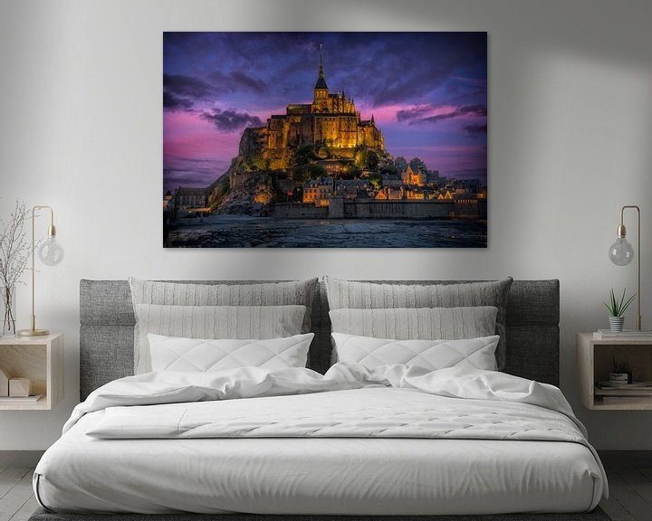 Sfeerimpressie: Le Mont Saint-Michel van Ardi Mulder