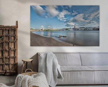 Skyline van Kampen aan de IJssel van Martin Bredewold