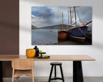 De haven van Inveraray-Schotland von Cilia Brandts