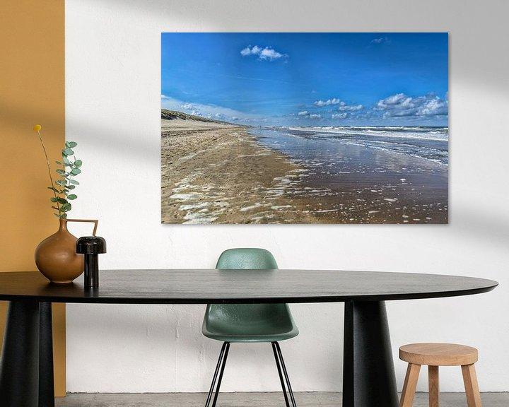 Sfeerimpressie: Strand Zuid Zandvoort van Don Fonzarelli