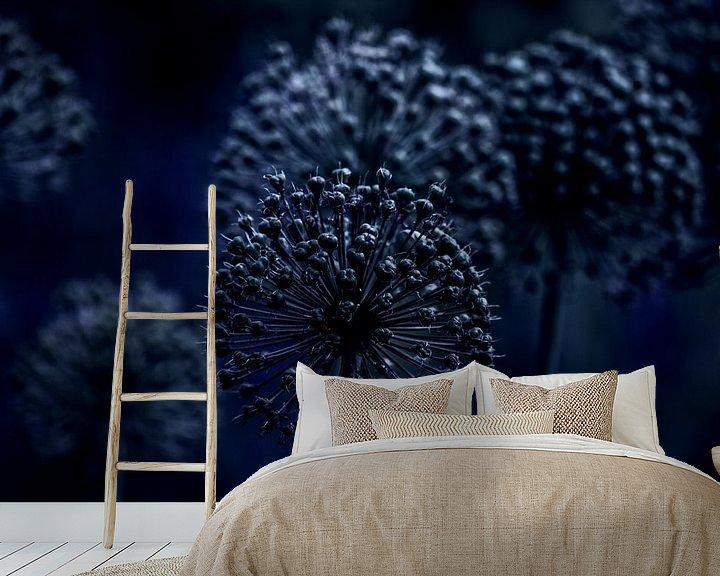 Sfeerimpressie behang: GOODNIGHT van Ans de Bie