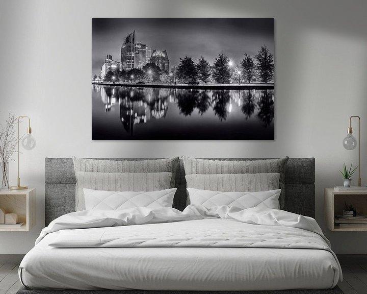 Sfeerimpressie: Den Haag in Zwart/Wit van Sander Meertins