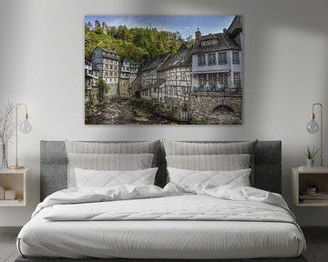 Monschau Eifel van Martin Van der Pluym