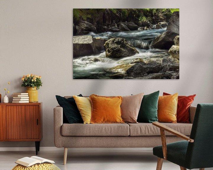 Sfeerimpressie: Slowmotion water van Martin Van der Pluym