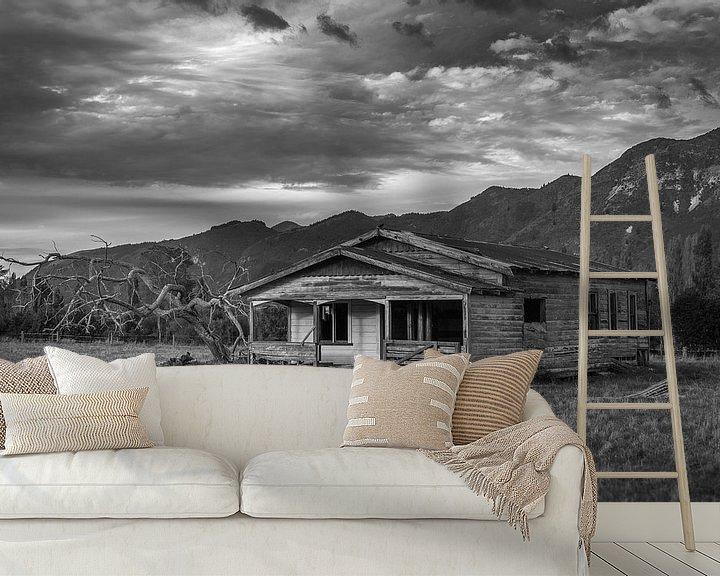 Beispiel fototapete: Verlassenes Haus in Neuseeland. von Studio W&W