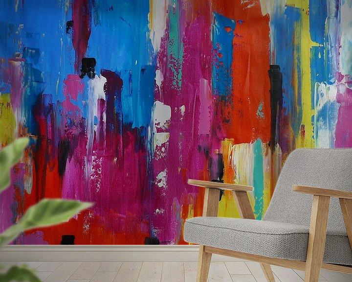 Sfeerimpressie behang: Bright lights  van Emma Ball