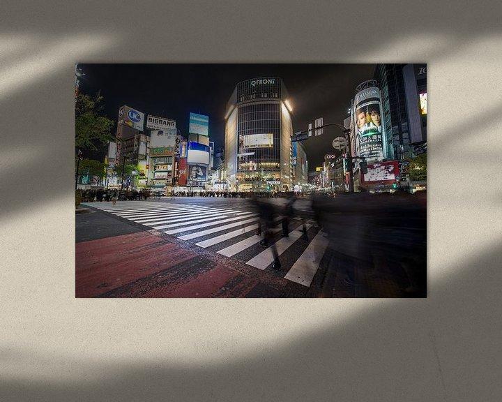 Beispiel: Shibuya, Japan von Vincent Xeridat