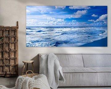 Northern Sea blue van Jörg Hausmann