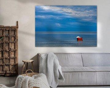 Fischerboot auf der Ostsee von Rico Ködder