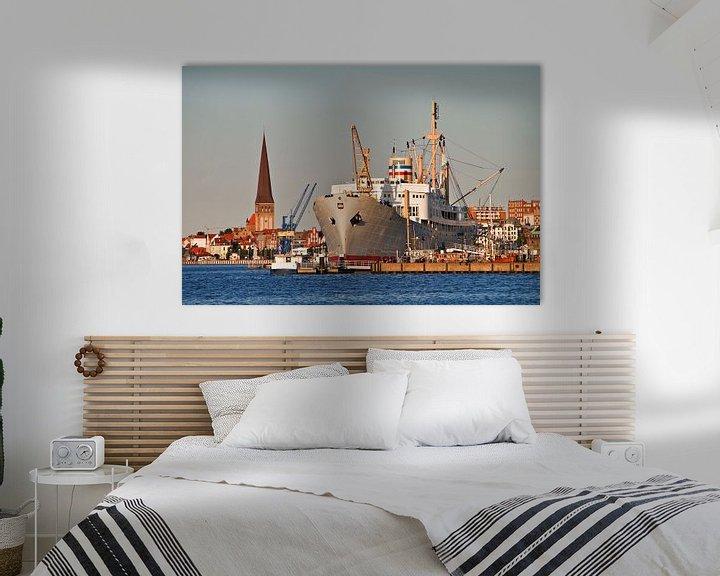 Sfeerimpressie: City port of Rostock van Rico Ködder