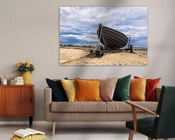 Fischerboot an der Ostseeküste von Rico Ködder