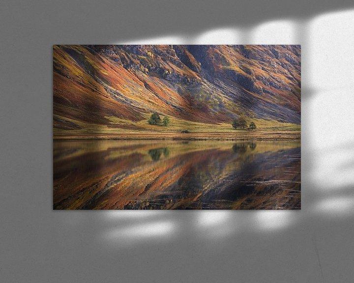 Sfeerimpressie: Loch Achtriochtan van Miranda Bos