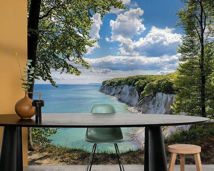 Beispiel fototapete: Kreidefelsen auf der Insel Rügen von Rico Ködder