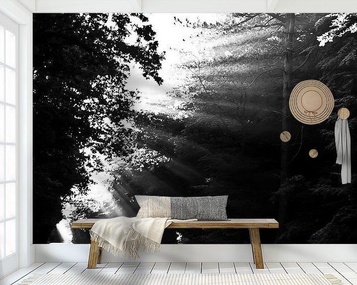 Sfeerimpressie behang: dromen   straat van Norbert Sülzner
