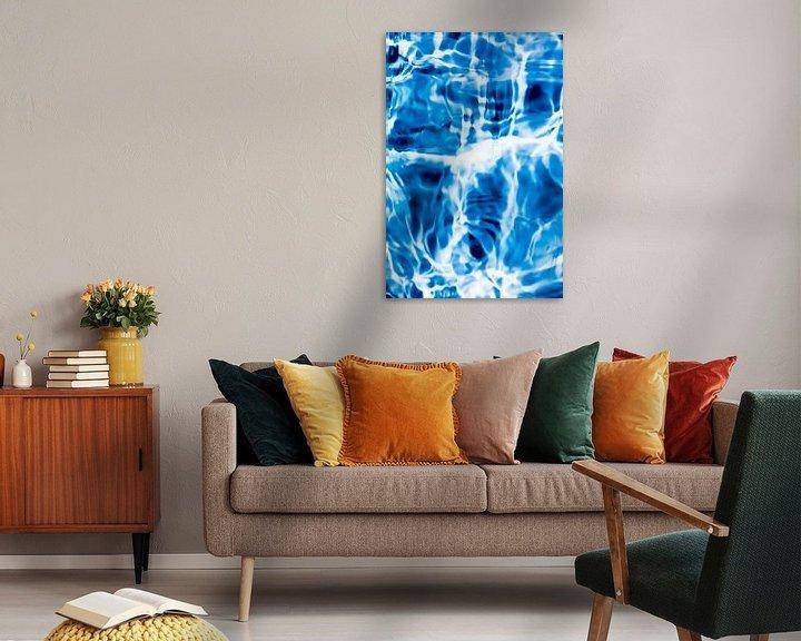Sfeerimpressie: Stromend Water. van Robert Wiggers