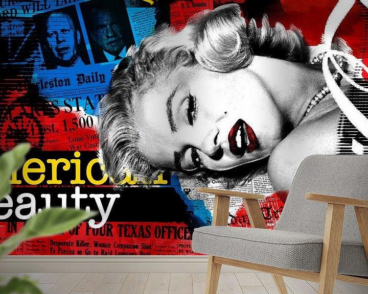 Sfeerimpressie behang: American Beauty 2 van EWGO