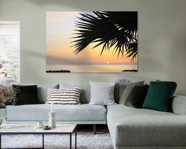 Impression: Playa Amadores Gran Canaria Sonnenuntergang sur Renate Knapp