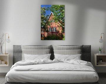 Timber-framed House in Luneburg van Gisela Scheffbuch