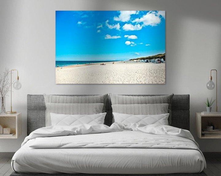 Sfeerimpressie: Sylt: beach indrukken (10) van Norbert Sülzner