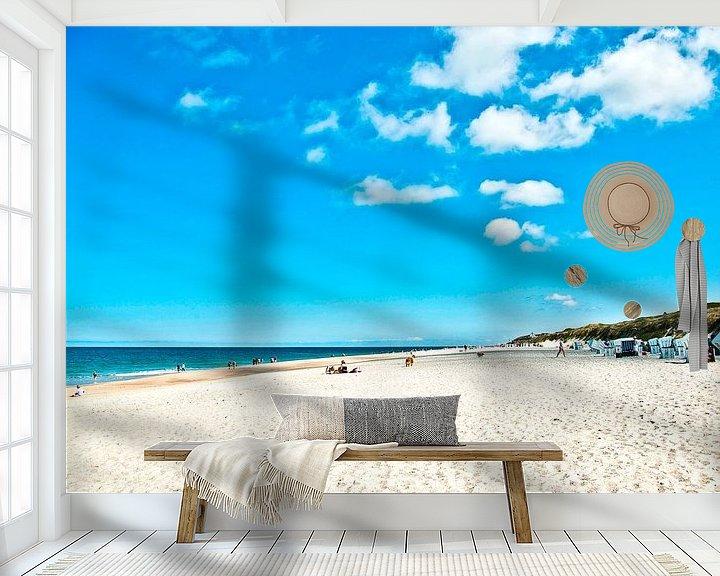 Sfeerimpressie behang: Sylt: beach indrukken (10) van Norbert Sülzner