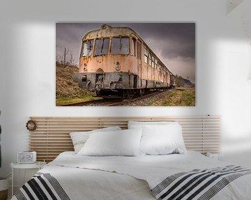 Abandoned Train von Tom Opdebeeck
