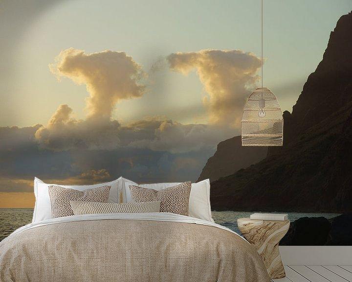 Impression: Symmetrische wolken sur Michel van Kooten