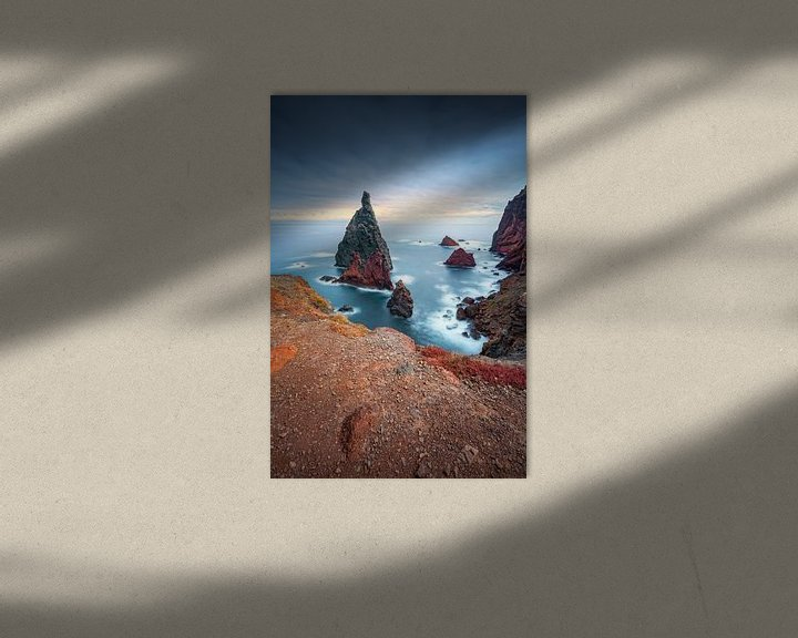 Sfeerimpressie: Bizarre rots naalden (Ponta de São Lourenço / Madeira) van Dirk Wiemer