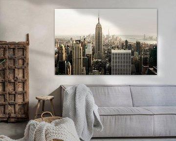 New York City Skyline III van Dennis Wierenga