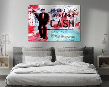 Hello I'm Johnny Cash #1 von Feike Kloostra