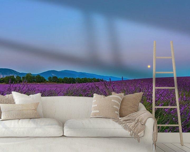 Impression: Lavender Moon II sur Marcel de Groot