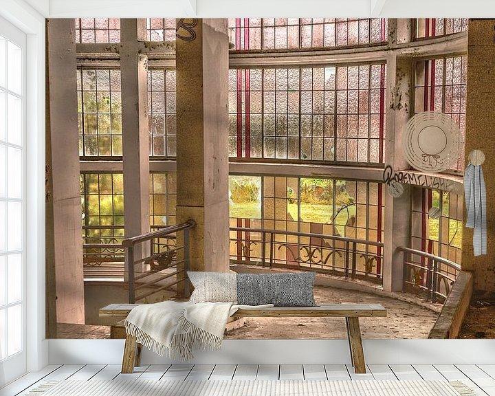 Beispiel fototapete: Abandoned Preventorium von Tom Opdebeeck