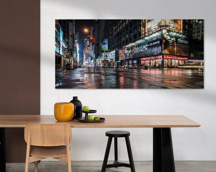 Sfeerimpressie: 'Time Square' New York van Dennis Wierenga