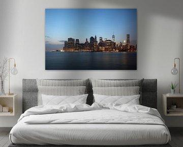 Skyline III van Bart van Hoek