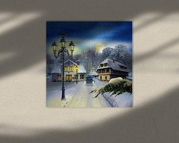Wintertijd door vintage van Monika Jüngling