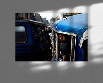 Tuktuk in Indien von Paul Piebinga