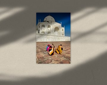 Taj Mahal von Paul Piebinga