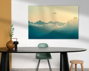 Wolken in den Bergen sur Pascal Deckarm