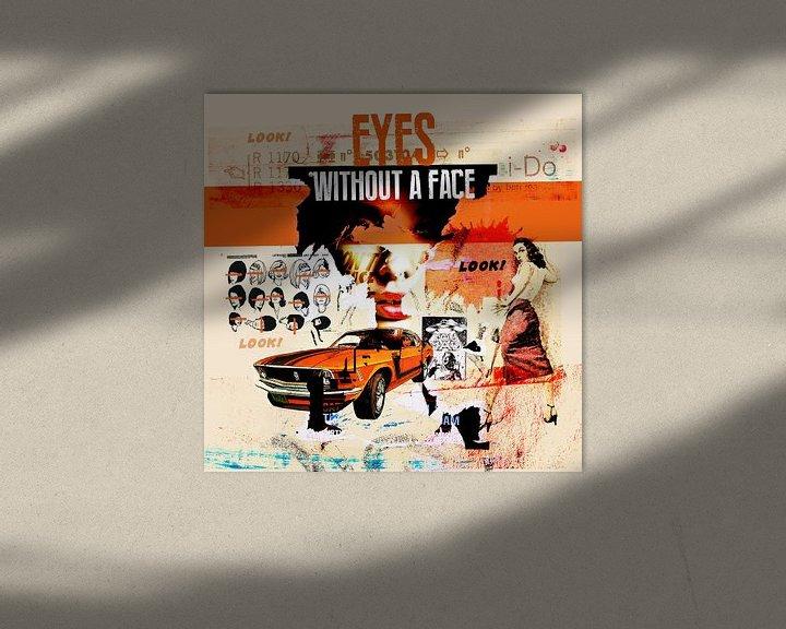Beispiel: Eyes Without A Face von Feike Kloostra