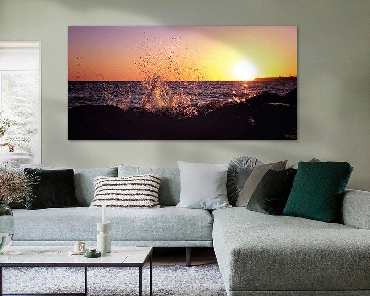 Sfeerimpressie: Splish Splash an der Meeresküste van Tanja Riedel