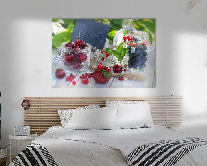 Sfeerimpressie: Frische Früchte des Sommers van Tanja Riedel