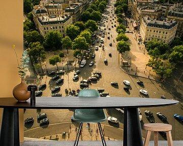 Rotonde Arc de Triomphe, Parijs van Melvin Erné