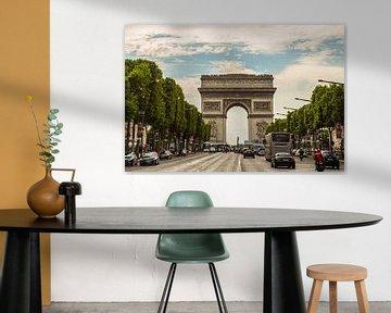 Arc de Triomphe, Paris von Melvin Erné