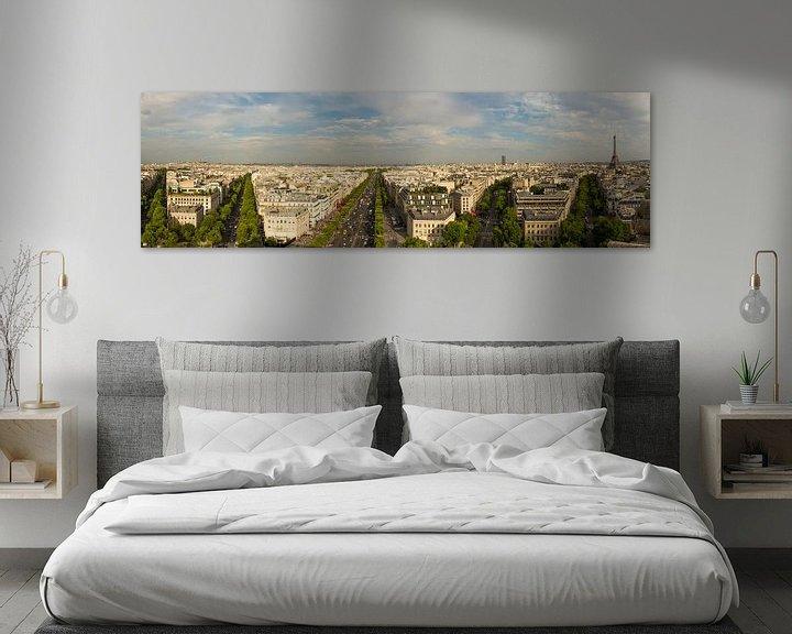 Sfeerimpressie: Panorama van Parijs van Melvin Erné