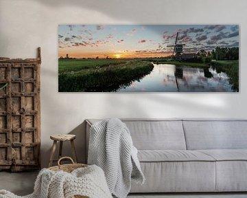Perfecte zonsondergang van Stephan Neven