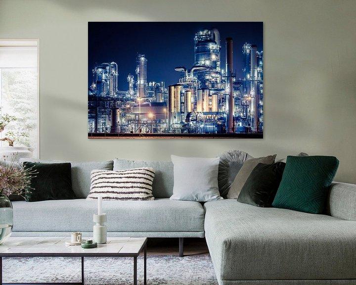 Impression: Industrie op de Rotterdamse Maasvlakte sur Karel Pops