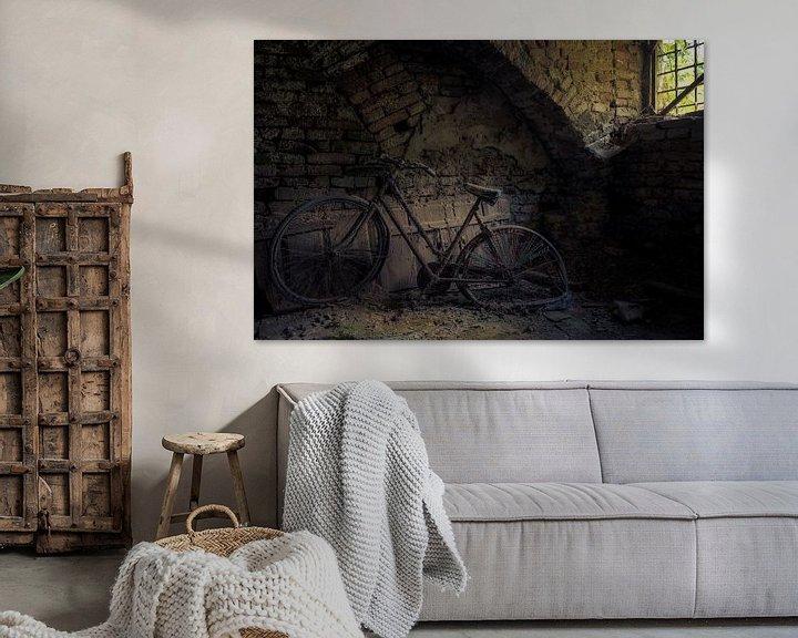 Beispiel: Altes Fahrrad im Keller von Perry Wiertz
