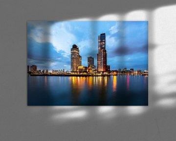 Rotterdam Cityscape van Peet de Rouw