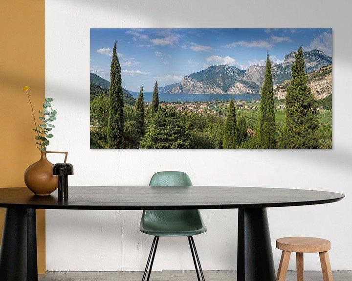 Beispiel: GARDASEE Herrlicher Panoramablick  von Melanie Viola