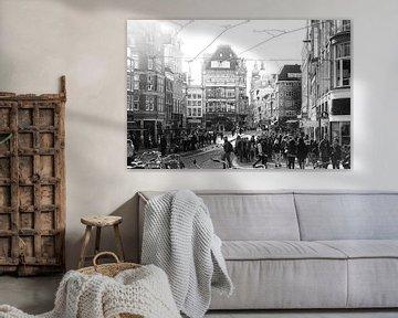 Koningsplein Amsterdam von Elmar Marijn Roeper