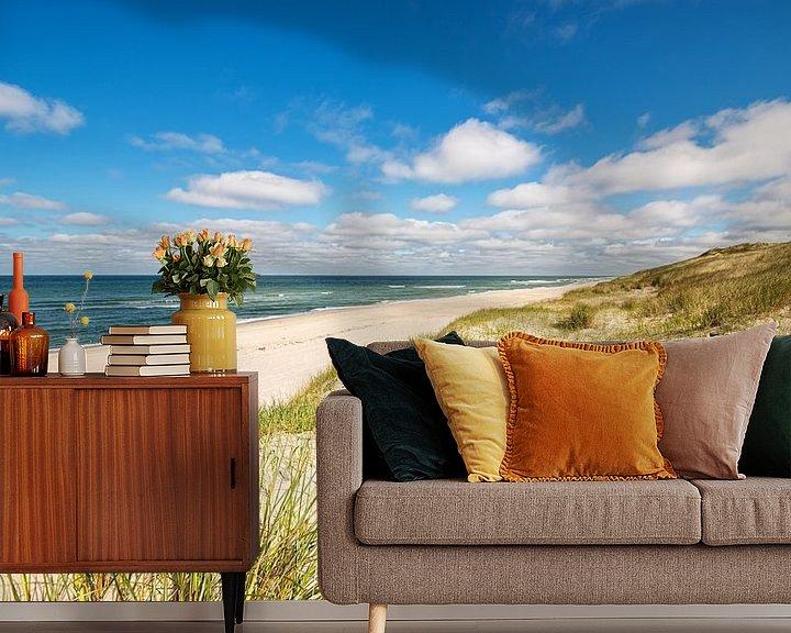Sfeerimpressie behang: Coastline Sylt van Dirk Thoms